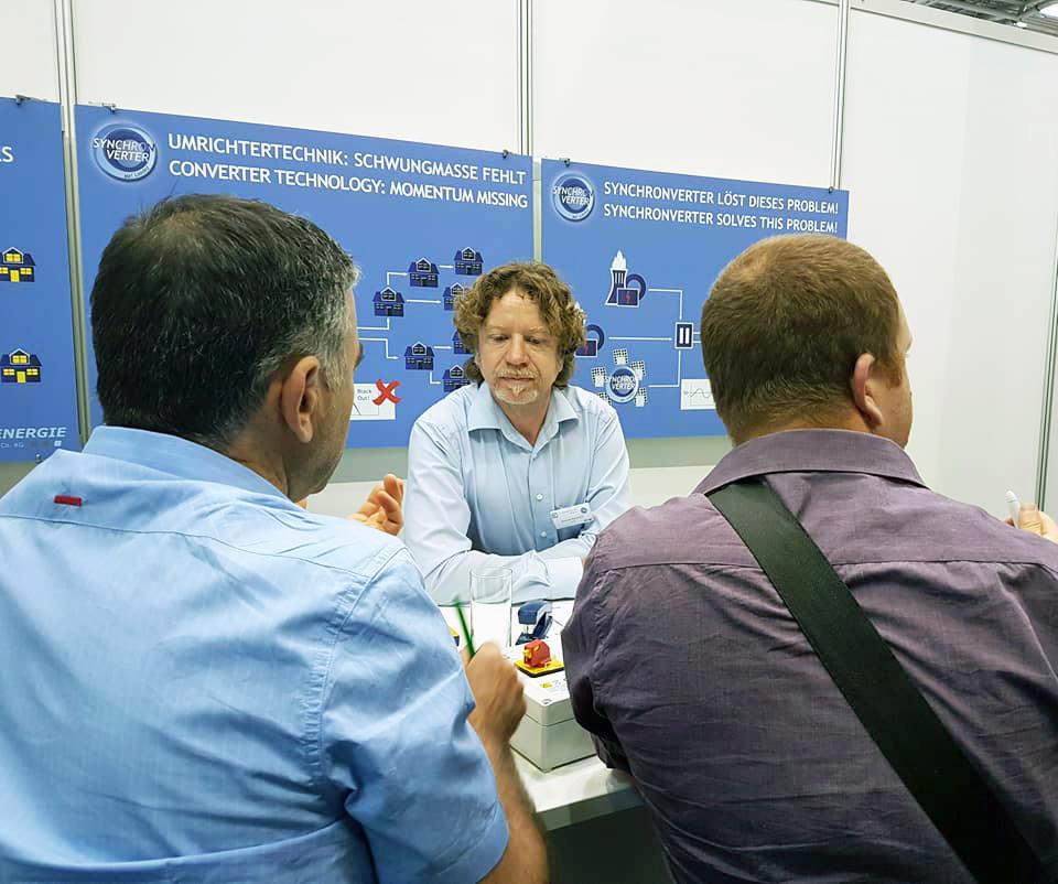 Gespräche Intersolar 2017