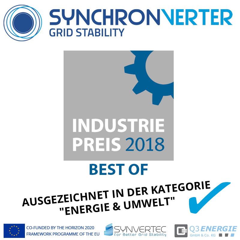 BEST OF INDUSTRIEPREIS SYNCHRONVERTER 2018